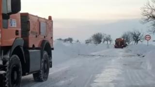 Toate drumurile din județul Constanța sunt redeschise circulației rutiere