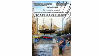 """""""Toate Pânzele Sus"""", la Medgidia - Concursul Internațional de Navomodele și Artă Vizuală pentru copii"""