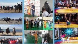 Kureș, tir cu arcul și concurs de călărie la Festivalul Internațional TOI