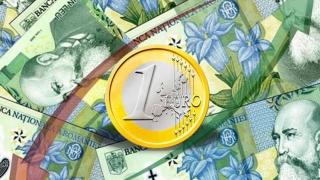 O nouă scădere a leului. Euro se apropie de 4,6 lei