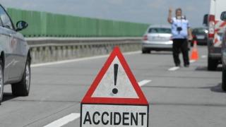 Trafic blocat pe A2, în urma unui accident soldat cu trei victime