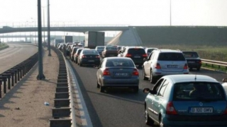 Se aglomerează drumul spre mare: Trafic crescut pe autostrăzile A2 și A4