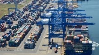 Creștere importantă a traficului de mărfuri în porturile maritime românești