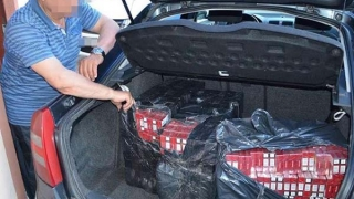 Contrabandiști de țigări scoși din afaceri de polițiștii de frontieră