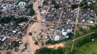 Bilanțul tragediei din Columbia a crescut la 311 morți, între care 102 copii