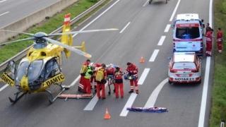 Tragedie pe o autostradă din Austria. Un român a murit pe loc