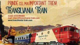 Primul tren turistic românesc!