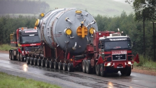 Transport agabaritic! Ruta BUZĂU - CONSTANȚA POARTA 7!