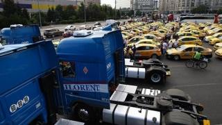 Transportul, întrerupt în toată ţara! Protest masiv!