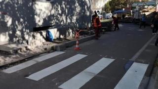 Noi treceri de pietoni în zone din Constanța cu risc de accident
