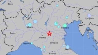 Trei cutremure în Italia, lângă Parma. Nu au fost înregistrate pagube
