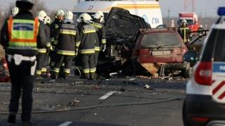 Accident teribil! Trei cetățeni români au murit în Ungaria