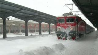 TRAFICUL FEROVIAR: trenuri anulate miercuri, 28 februarie