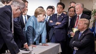 """Trump, """"incoerent"""" şi """"inconsistent"""" la Summitul G7!"""