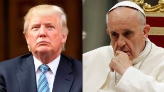 Trump se află la Roma pentru a se întâlni cu papa Francisc,