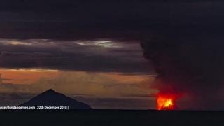 Tsunami devastator, provocat de erupția vulcanului Krakatau. Sute de morți și răniți