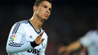 """Cristiano Ronaldo, meciul cu numărul 100 pentru """"galactici"""" în Liga Campionilor"""