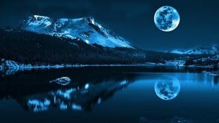 Ultima lună albastră din acest an! Nu o vom mai vedea până în 2020