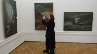 Un an fără Ionel Mătăsăreanu, printre picturile sale