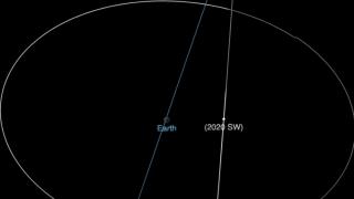 Un asteroid cu un diametru de până la zece metri va trece foarte aproape de Pământ la noapte