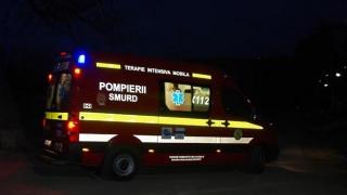 Zeci de copii, în pericol de moarte! Un autocar a luat foc pe autostradă!