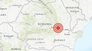 Un cutremur de intensitate medie s-a produs în zona Vrancea