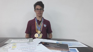 Un elev constănțean de aur la Balcaniada de Matematică 2018