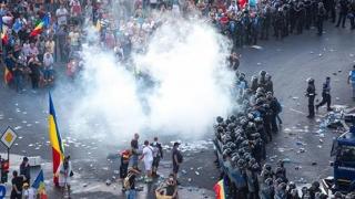 Un expert militar francez validează intervenţia Jandarmeriei, pe 10 august