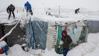 UNHCR, îngrijorată de soarta imigranţilor expuşi la frig în Europa