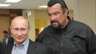 Steven Seagal a primit cetățenia rusă