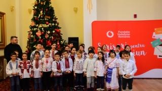 Cadouri din suflet pentru copii defavorizați, din partea angajaților Vodafone și UPC