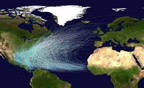 Un uragan neobișnuit pentru luna ianuarie în ultimii 80 de ani, în Oceanul Atlantic