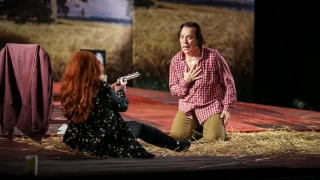 """Ursul"", un spectacol senzațional despre sentimente extreme"