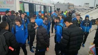 Avionul care a adus delegaţia Viitorului din Turcia s-a oprit la Varna