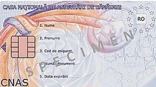 Termenul de valabilitate al cardurilor naţionale de sănătate, prelungit la 7 ani