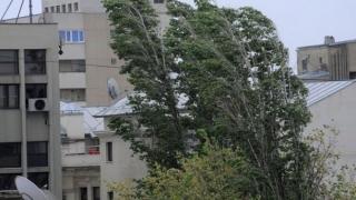 Vânt puternic la Constanța. S-a emis avertizare de cod galben