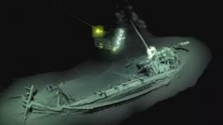 Cel mai vechi vas naufragiat, descoperit în Marea Neagră