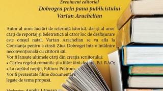 Vartan Arachelian își lansează două cărți la Constanța