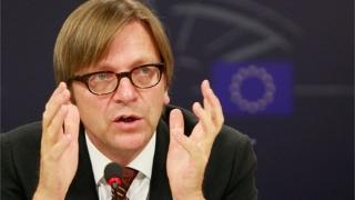 Guy Verhofstadt se retrage din cursa pentru președinția Parlamentului European