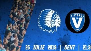 Bilete pentru spectatorii români din Belgia la partida Gent - Viitorul
