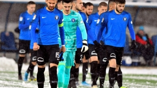 Viitorul nu a găsit soluţiile câştigătoare în primul meci disputat în condiţii de iarnă