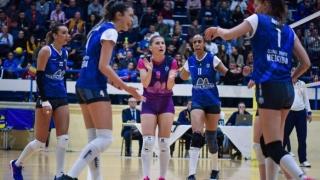 Primul succes în Divizia A1 la volei pentru echipa feminină CS Medgidia
