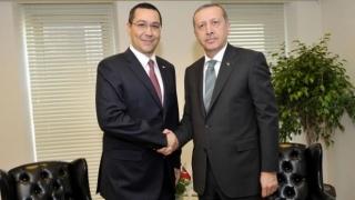 Ponta l-a felicitat pe Erdogan de ziua de naştere