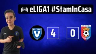 Viitorul a ocupat locul 4, FC Hermannstadt s-a impus în eLiga 1