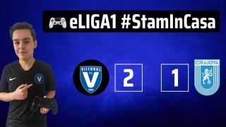 A patra victorie pentru FC Viitorul în eLiga 1