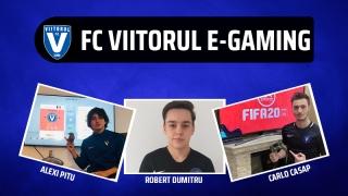 FC Viitorul evoluează în competițiile de FIFA 20 organizate de LPF și FRF