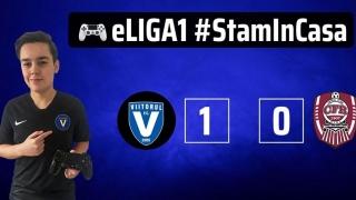 Al doilea succes în eLiga 1 pentru Viitorul