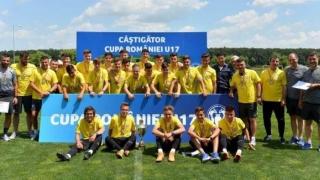 FC Viitorul U17, victorie categorică în finala Cupei României
