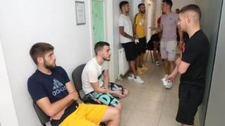 Fotbaliştii Viitorului au efectuat vizita medicală