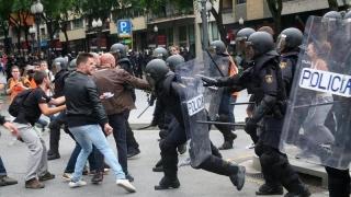 Violenţă extremă în Spania!